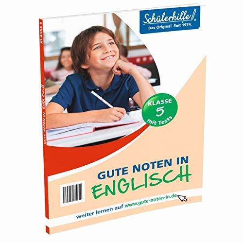 Schülerhilfe! Gute Noten in Englisch Klasse 5