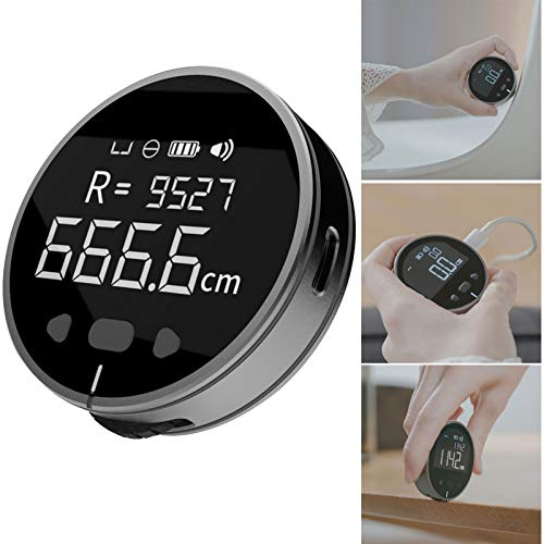 VELIHOME Electronic Tape Measure with LCD Display Digital Ruler Type-C Rechargeable Length Measuring Tool for Flat Curved