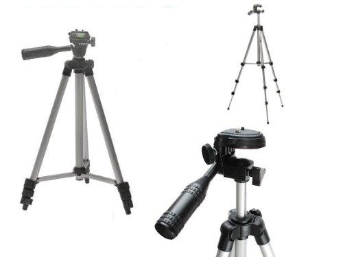 NewTech Premium 120cm Stativ u Tragatasche mit 3-Wege-Kopf + Schnellwechselplatte für Sony SLT-A65VK, SLT-A55VL, SLT-A35K, SLT-A33L, SLT-A77VQ, SLT-A55VY, SLT-A35Y, SLT-A33Y, SLT-A77V, SLT-A65V, SLT-A55V, SLT-A35, SLT-A33 - 2 Jahre Garantie