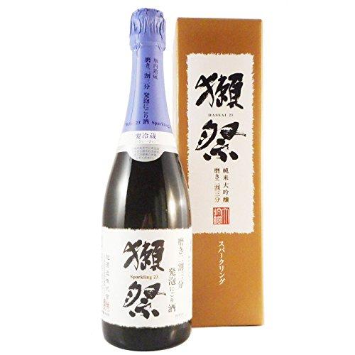 獺祭 純米大吟醸 磨き二割三分 発泡にごりスパークリング【通常箱入】 720ml