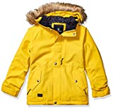 Volcom Big Girl's So Minty Insulated Snow Jacket, Yellow, Large