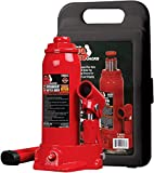 BIG RED T90213 Torin Hydraulic Welded Bottle Jack with Blow Mold Carrying...