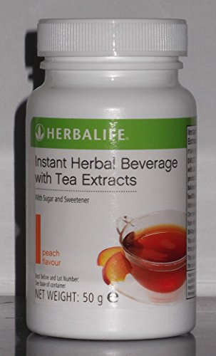 HERBALIFE INSTANT HERBAL BEVERAGE WITH TEA EXTRACTS 50g - PEACH FLAVOUR
