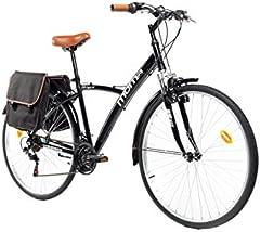 """Moma Bikes Bicicleta Trekking/Paseo Hybrid 28"""""""