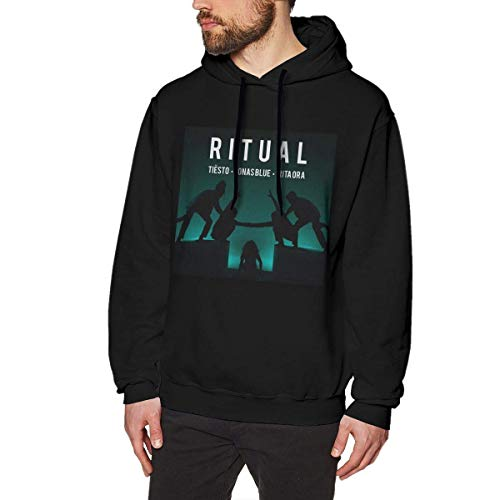 XCNGG Tiesto Jonas Blue und Rita Ora veröffentlichen Ritual Herren Sweatshirt Sportmode No Pocket Hoodies