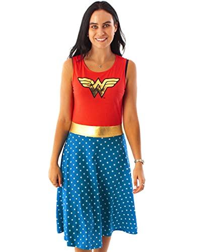 DC Comics Wonder Woman Costume for Adult. Sizes XL, XXL, 3XL