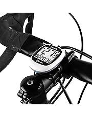 Ordenador para Bicicleta con GPS Inalámbrico, Mini velocímetro cuentakilómetros para Bicicleta Impermeable, Ordenador para Bicicleta Recargable USB con Pantalla LCD para Velocidad, altitud, Distancia