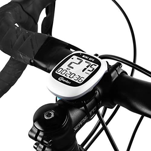 Ordenador para Bicicleta con GPS Inalámbrico, Mini velocímetro cuentakilómetros para Bicicleta Impermeable,...