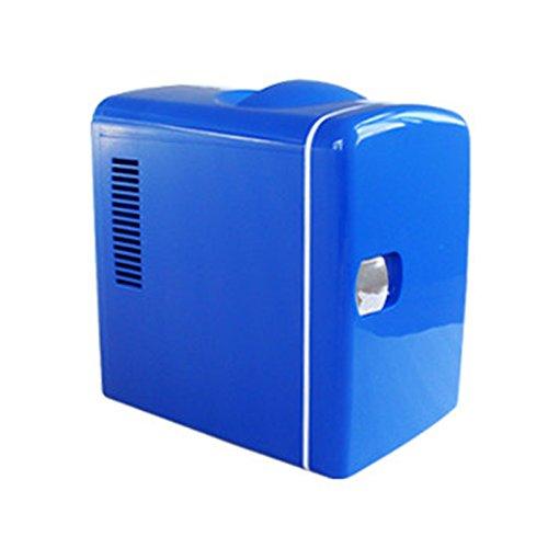 CivilWeaEU 4L Voiture Réfrigérateur Mini frigidaire à double usage Mini réfrigérateur Petit dortoir de voiture Petit coffre chaud et froid