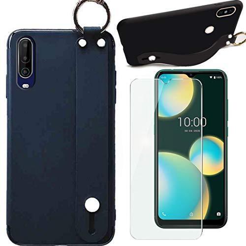 LYJERRY Wristband Hülle für DOOGEE S90 Pro Mit [1Pcs] Schutzfolie - TPU weich Handyhülle Cover Handytasche Phone Hülle Schutzhülle für DOOGEE S90 Pro-schwarz