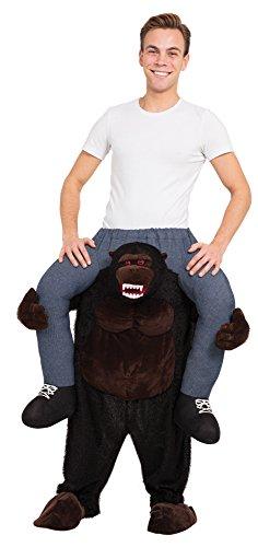 Bristol Novelty AF014 Huckepack Gorilla Kostüm