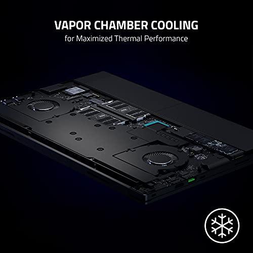 "Razer Blade 15 Advanced Gaming Laptop 2021: Intel Core i7-11800H 8-Core, NVIDIA GeForce RTX 3080, 15.6"" FHD 360Hz, 32GB RAM, 1TB SSD - CNC Aluminum - Chroma RGB - THX Spatial Audio - Thunderbolt 3"