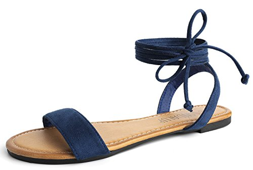 Top 10 best selling list for navy blue flat shoe ankle tie