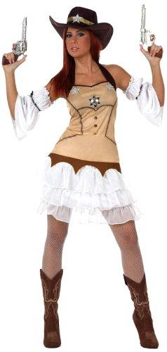 ATOSA Sheriff-Kostüm für Damen - XL