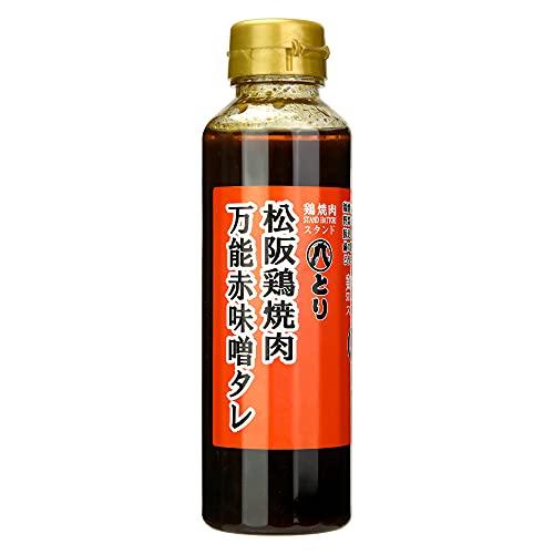松阪鶏焼肉 万能赤味噌タレ 濃厚 つけダレ 鶏焼肉のタレ 360g×1本