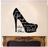 Etiqueta De La Pared Zapatos Adecuados Calcomanía De Navidad Pvc Vinilo Dormitorio De Estar Ventana Del Hogar Baño Oficina Dormitorio Tienda Decoración 87X87Cm