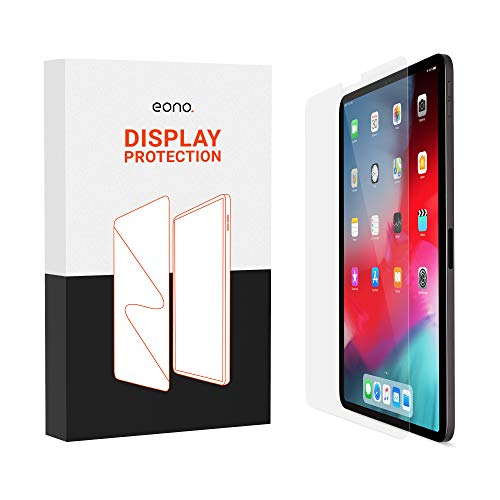 Eono Cristal blindado compatible con iPad Pro 10,5, iPad Air 3 (2019) [2 unidades] – Cristal protector HD contra rotura de pantalla, arañazos con dureza 9H – Apto para fundas