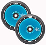 Envy Scooters 110mm Hollow Core Wheels - Teal/Black