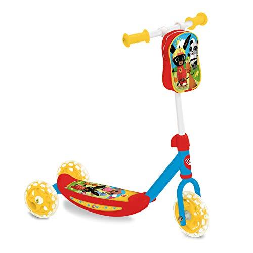 Mondo Toys - My First Scooter BING - Monopattino Baby  bambino/bambina  - 3 ruote - borsetta porta oggetti inclusa - 28601
