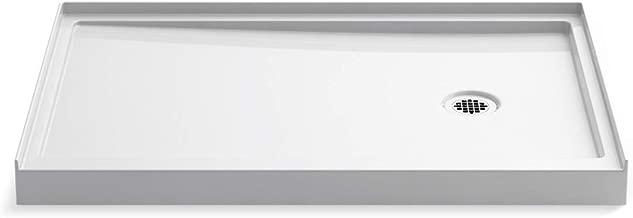Kohler K-8638-0 Rely Shower Base, White