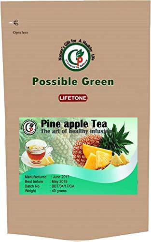 Té de piña | Té de desintoxicación | Delicious Infusion 20 bolsitas de té 40g