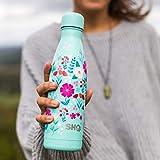SHO Your Bottle – Vakuumisolierte, Doppelwandige Trinkflasche (Frosted Lilac 500ml) - 4