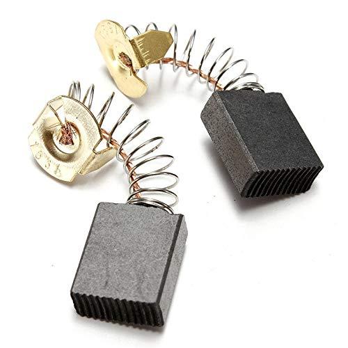 Haoweiwei HWW-DDJQD, 2pcs / Set 6.5x13.5x16mm Herramienta Martillo Motor eléctrico cepillos de...