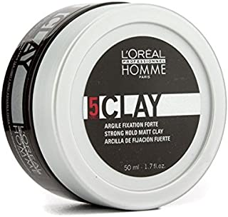 L'Oreal Paris Professionnel Homme Strong Hold Matt Clay 50Ml/1.7Oz