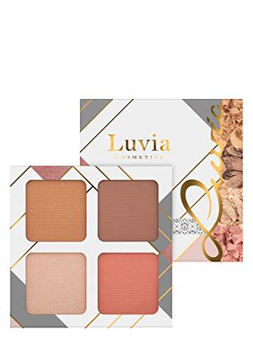 Make-up Set Palette Luvia, 4-in-1 Gesichtspalette Mit Blush, Highlighter, Bronzer & Konturpuder - Light