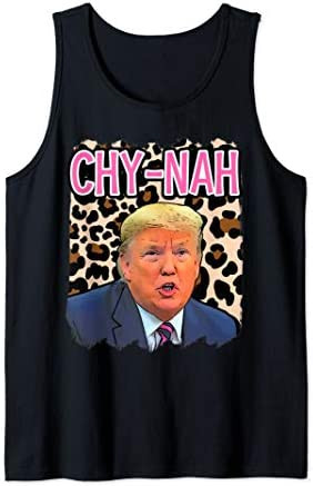 Funny Donald trump cute china humor chynah 2020 election Tank Top product image