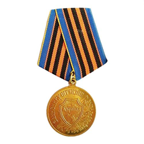 ZHAQU WW2 CCCP Medal Soviet Union Ukraine Guard Copper DEFENDER OF MOTHERLAND Honor Badge Collection