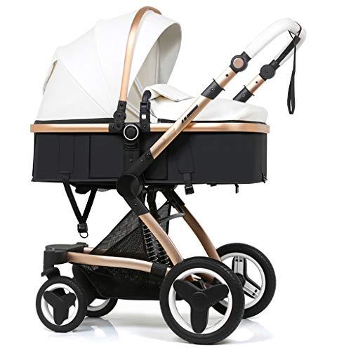 JIAX Cochecito de conveniencia, cochecito ligero para bebés con plegado compacto, toldo con visera solar, cochecito de paraguas para viajes, toldo ajustable, asiento variable y reclinable (color: B)