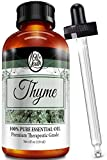 4oz Bulk Thyme Essential Oil – Therapeutic Grade – Pure & Natural Thyme Oil