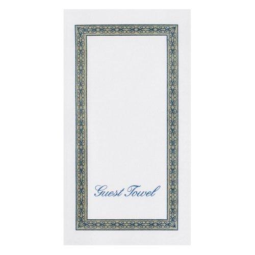 "Hoffmaster 856505 Linen-Like Guest Towel, 1/6 Fold, 17"" Length x 12"" Width, Regal (Case of 500)"