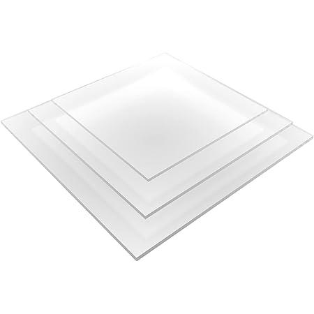 8 mm, 700 x 500 mm Acrylglas Zuschnitt Plexiglas Zuschnitt 2-8mm Platte//Scheibe klar//transparent