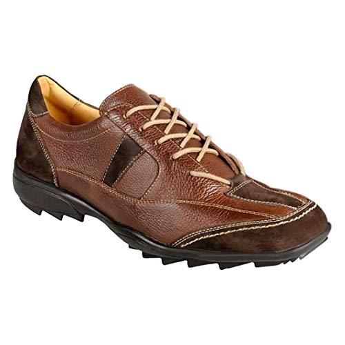 Sapato Casual Masculino Conforto Sandro Moscoloni Kirkland Marrom (38)