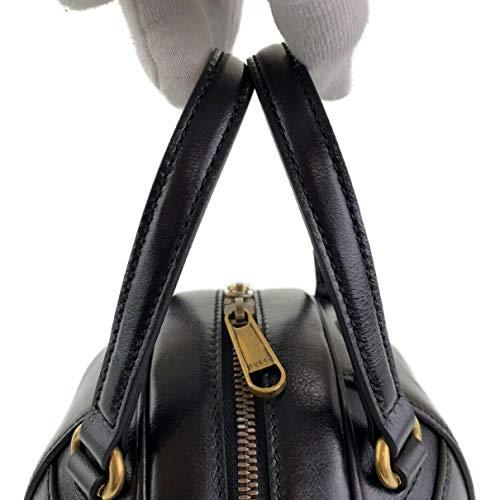 Gucci Puma Lux Energy Black Zip Small Gold Round Basketball Handbag Bag New