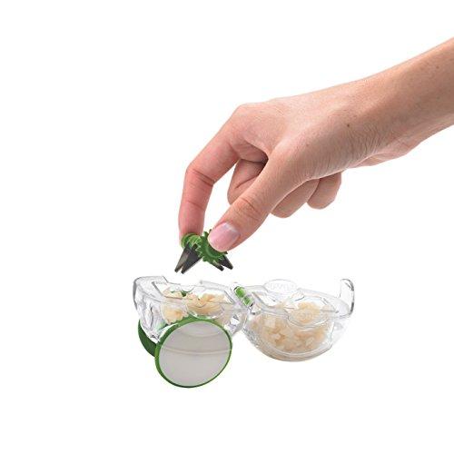 Chef'n 102-125-011 Garlic Zoom – arugula / meringue - 5
