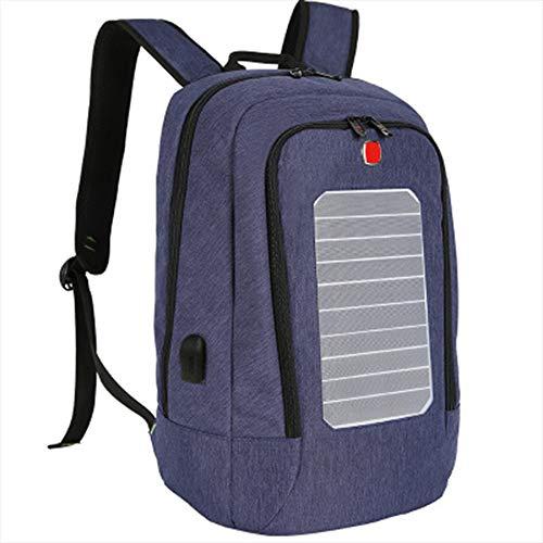 Amazou Aufladen Rucksack Solarenergie Im Freien Reisen Tasche,B