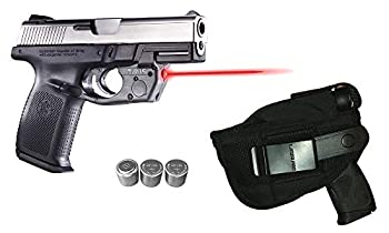 Laser Kit for S&W Smith-Wesson Sigma SW9VE SW40VE w/ Holster Touch-Activated ArmaLaser TR15 Red Laser Sight & 2 Extra Batteries  NOT fit SD9VE/SD40VE