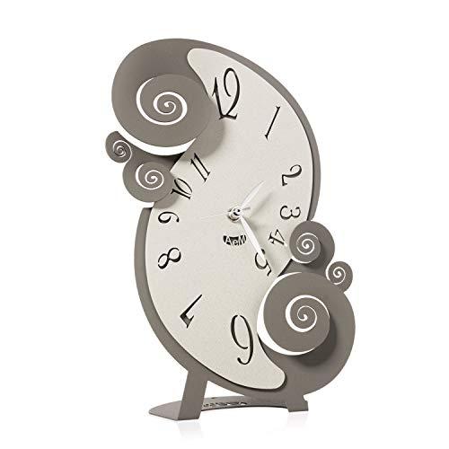 orologio da tavolo arti e mestieri Arti & Mestieri Circeo - Orologio da Tavolo di Design 100% Made in Italy - in Ferro