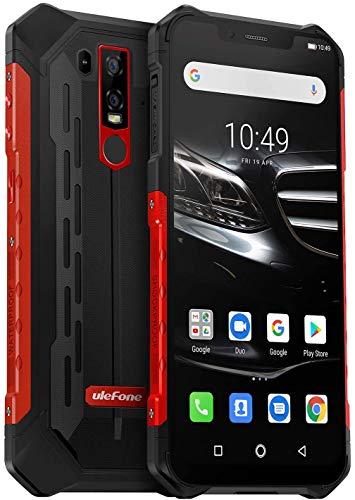 Ulefone Armor 6E Outdoor Smartphone ohne Vertrag (Rot)