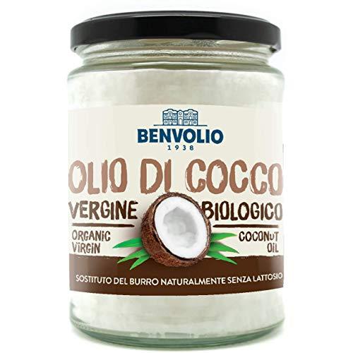 BENVOLIO 1938 BIO OIL Olio di Cocco Biologico Vergine - 500 ml - Olio di Cocco Alimentare Puro...