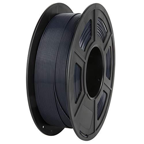 PLA Filament, PRINSFIL Filament 1,75 mm PLA für FDM 3D Drucker, 3D Druckmaterialien 1 kg 1 Spool, Blau-schwarz