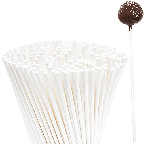 Find Cheap Cake Pop Sticks (8 in, White, 200 Pack)