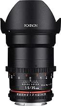 Rokinon Cine DS DS35M-N 35mm T1.5 AS IF UMC Full Frame Cine Wide Angle Lens for Nikon