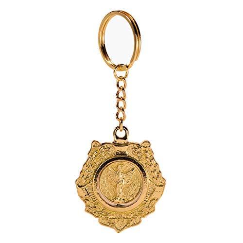 Llaveros Colgante Good Omens Angel Aziraphale Keychain con caja para Regalo Navidad/Cumpleaos Ropa Accesorios Zinc
