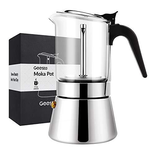 Cafetera 9 Tazas Induccion marca Geesta