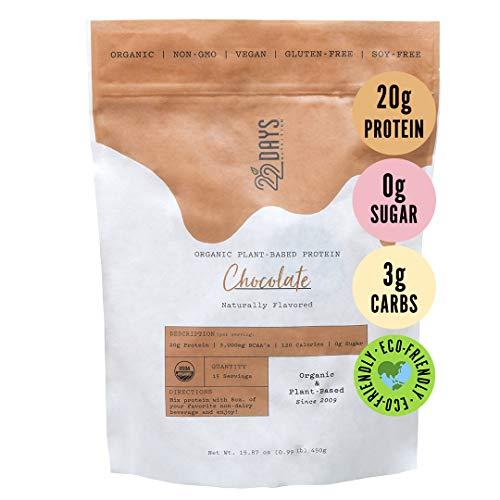 22 Days Nutrition Organic Protein Powder