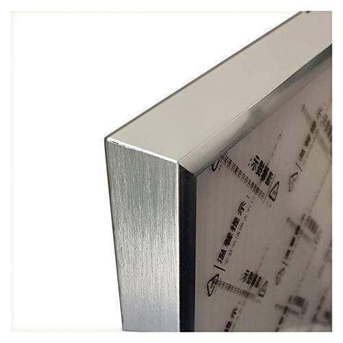 YOBAIH Marco de Metal Imagen for Marco Cartel de la Pared Imágenes clásico de Aluminio Marcos de Fotos for Colgar de la Pared del Marco del Certificado 30x40 A3 A4 Marcos Foto